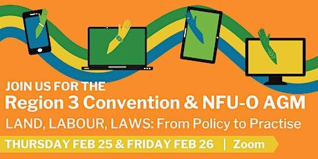 Region 3 Convention & NFU-O AGM tickets
