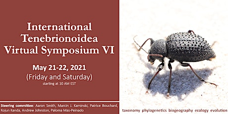 International Tenebrionoidea Virtual Symposium VI tickets