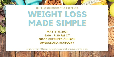 Weight Loss Made Simple tickets