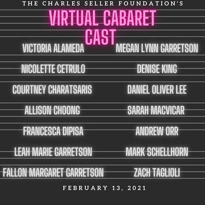 The Charles Seller Foundation's Virtual Cabaret image