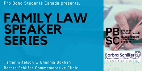PBSC Family Law Speaker Series: Barbra Schlifer Commemorative Clinic tickets