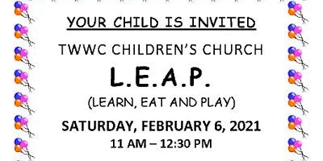 L.E.A.P | Learn, Eat, and Play tickets