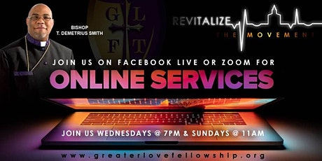 LIVE VIRTUAL - SUNDAY WORSHIP SERVICE AT 11:00 AM tickets