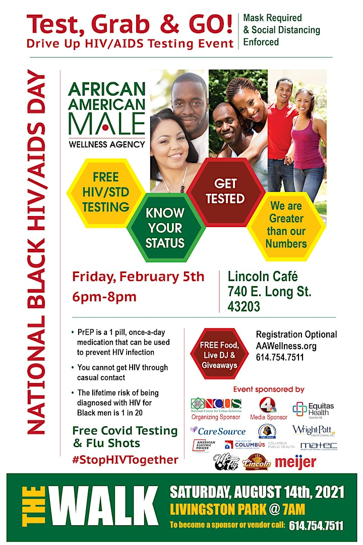 National Black HIV/AIDS Awareness Day - Test, Grab, and Go! image