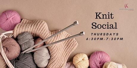 Knit Social tickets