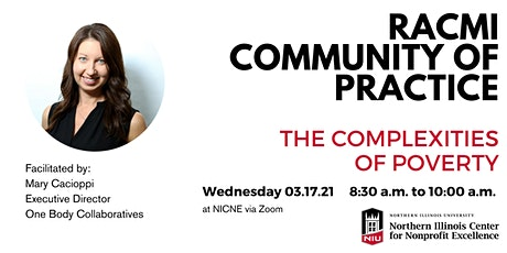 3.17 RACMI Community of Practice: The Complexities of Poverty tickets