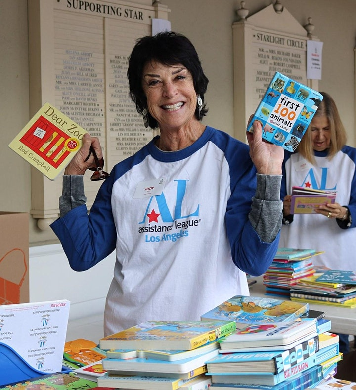 Family Day of Service: Blast Off with Books! image