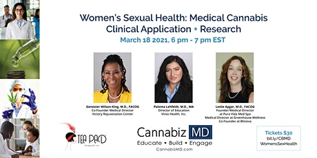 Women's Sexual Health: Medical Cannabis  Clinical Application + Research tickets