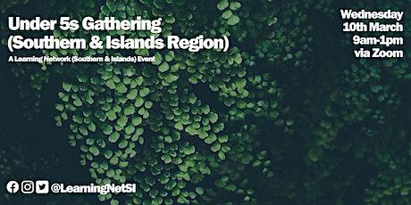 Southern & Islands Region: Under 5s Training Morning tickets