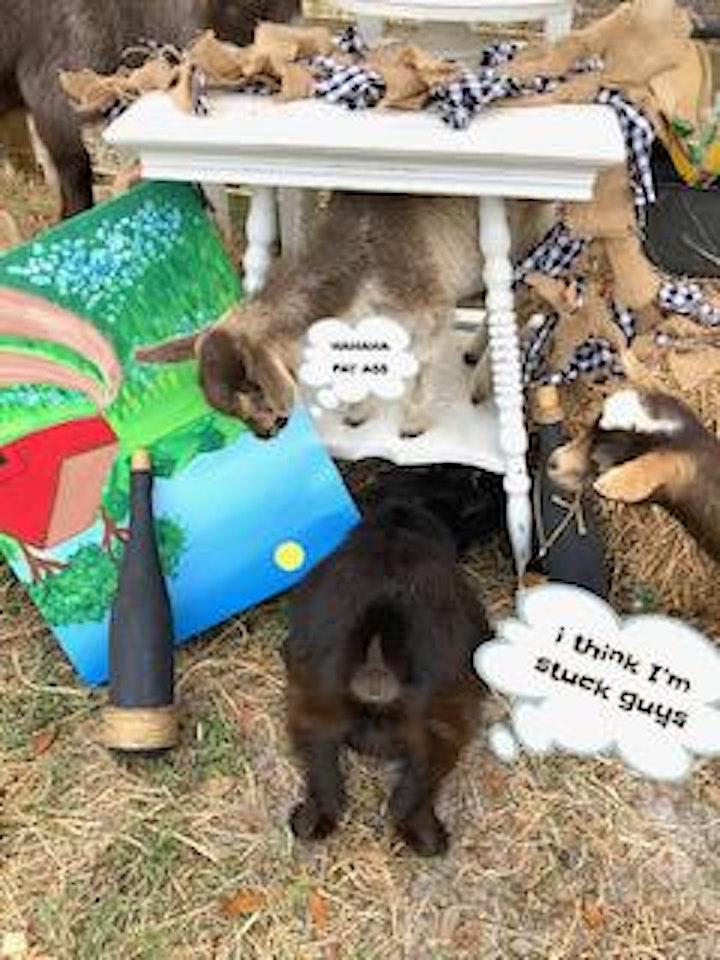 """The Drunken Goat"" Sip & Paint Event image"