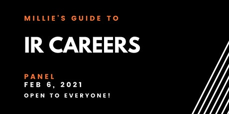 PANEL | Millie's Guide to IR Careers tickets