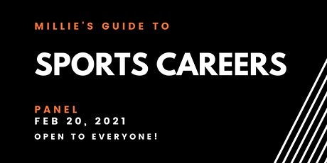 PANEL | Millie's Guide to Sports Careers tickets