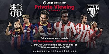 FC Barcelona - Athletic Club en Villa Carlos Paz (Córdoba) entradas