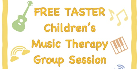 Music Therapy Taster - Supporting Children & Young People tickets