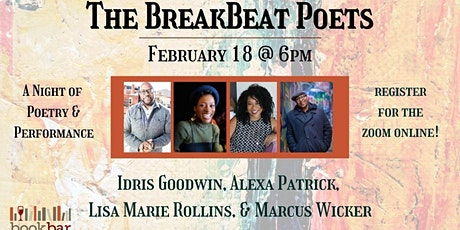The BreakBeat Poets: A Night of Poetry and Performance tickets