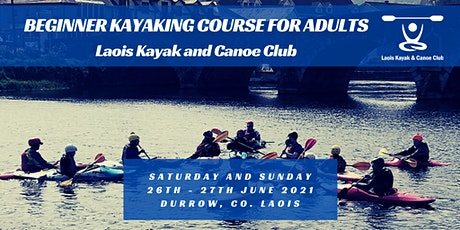 Beginners Kayaking Course for Adults with Level 2 Kayak Award Assessment tickets