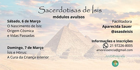 Sacerdotisas de Ísis - módulos avulsos bilhetes