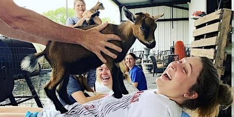 Goat Yoga Houston-Pearland Kidding Season tickets