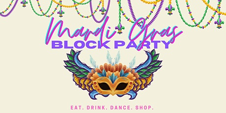 Mardi Gras Block Day Party tickets