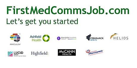 FirstMedCommsJob Workshop: Writing skills for aspiring medical writers tickets