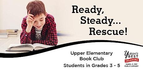 Ready, Steady...Read! - Upper Elementary Bookclub tickets