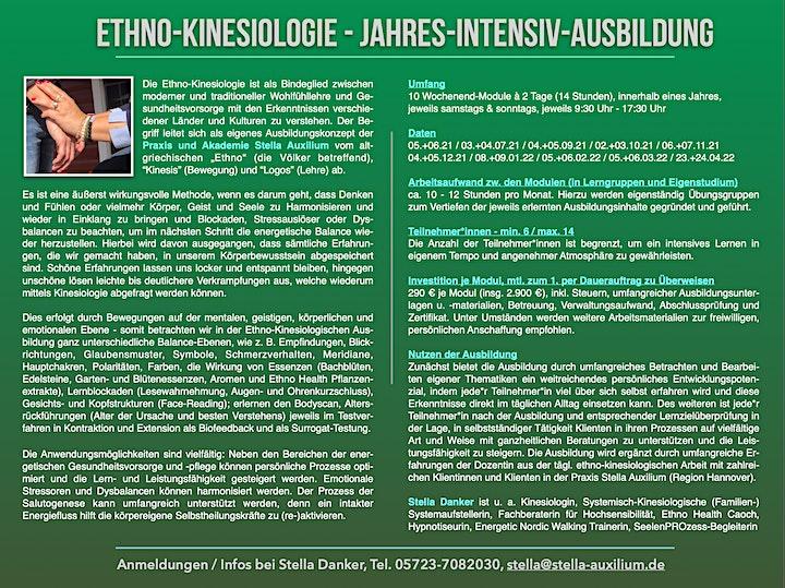 Ausbildung Ethno-Kinesiologie - Jahresintensiv-Ausbildung über 10 Module: Bild