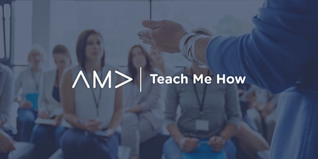 Teach Me How: Designing and Developing a Website with Accessibility in Mind tickets