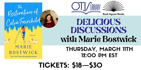 Virtual Author Luncheon with Marie Bostwick tickets