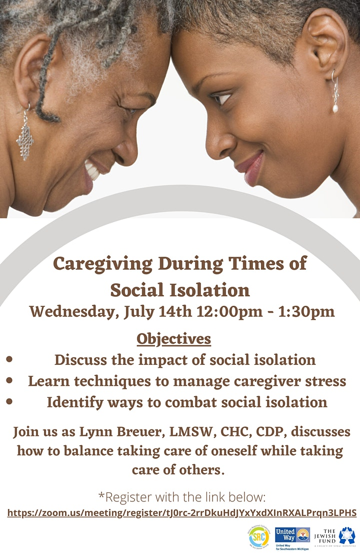 Caregiving During Social Isolation image
