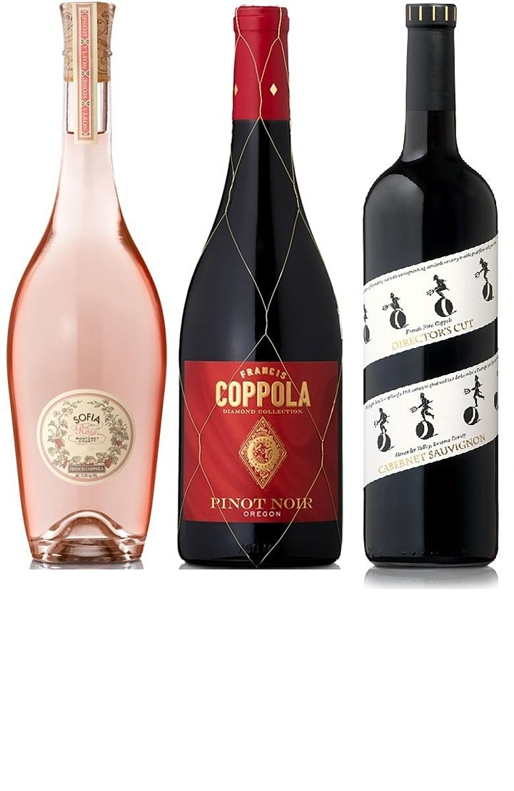 Wine Dames Wednesday:  A Coppola Tasting image