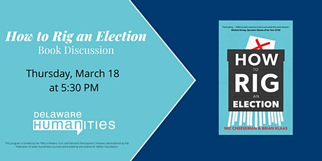 """How to Rig an Election"" Book Discussion tickets"