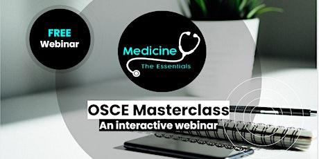 The Essentials OSCE Masterclass 3: abdominal examination tickets