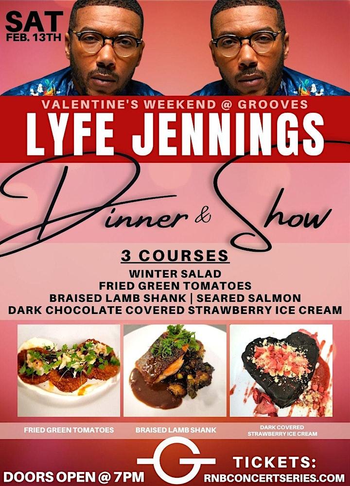 Lyfe Jennings Live | Valentine's Weekend | Grooves' RnB Concert Series image
