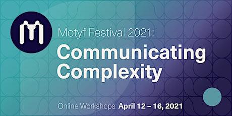 Motyf 2021 Workshop: Prototyping interactive visualizations Tickets