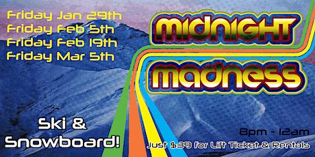 Midnight Madness 2021 at Mt. Crescent Ski Area tickets