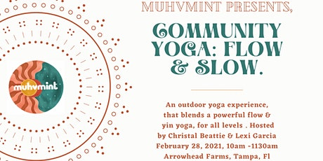 Community Yoga: Flow & Slow, an outdoor yoga experience tickets