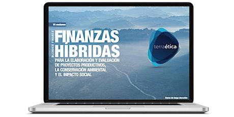 Finanzas Híbridas para la conservación ambiental y el impacto social boletos