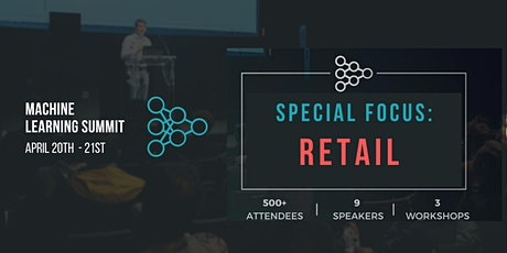 Machine Learning in Retail Summit tickets