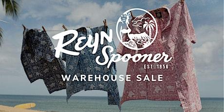 Reyn Spooner Warehouse Sale - Santa Ana, CA tickets