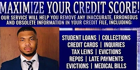 Maximize Your Credit Score! tickets