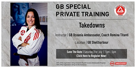 GB Special Private Training At GB Shellharbour tickets