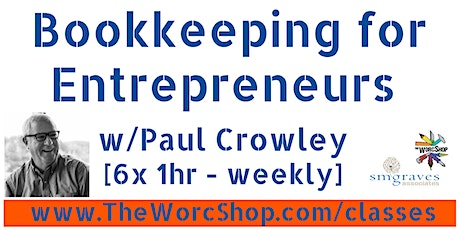 Bookkeeping for Entrepreneurs 3.22.21 tickets