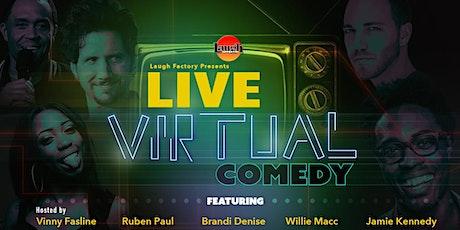 LIVE Virtual Comedy tickets