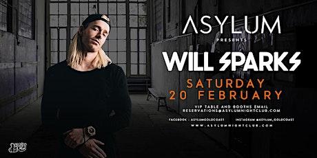 Asylum Presents Will Sparks tickets