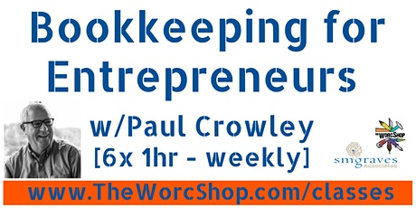 Bookkeeping for Entrepreneurs 3.29.21 tickets