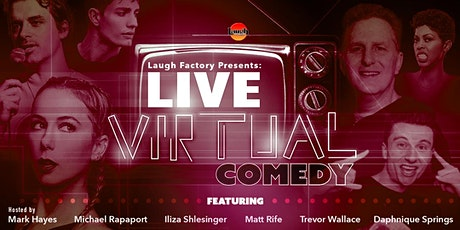 LIVE Virtual Comedy at the Laugh Factory tickets