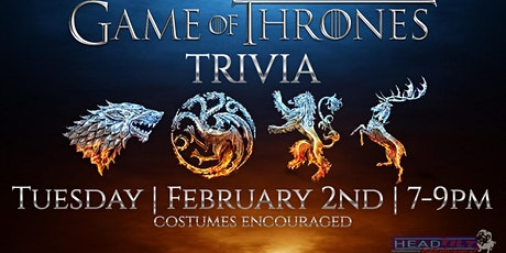 Game of Thrones Trivia Night at The Brass Tap Rockwall tickets
