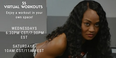 Mo'Fit Virtual Workouts tickets