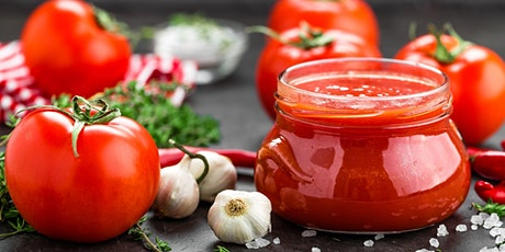 Reducing food waste - Passata and chutney cooking class tickets