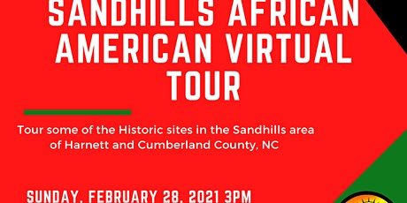 Sandhills Family Heritage Association African American Tour Tickets